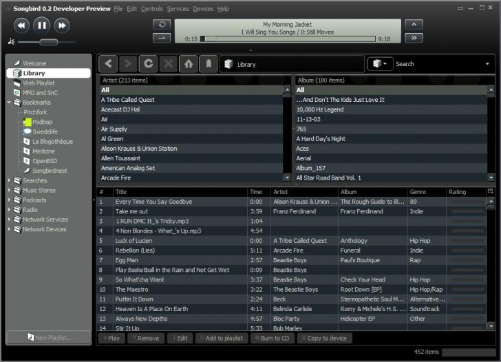 download aplikasi pemutar musik mp3 untuk pc songbird