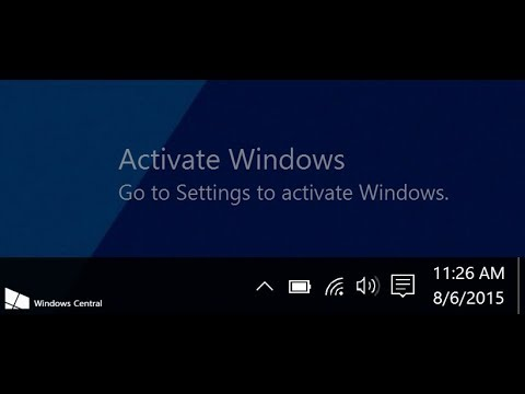cara menghilangkan activate windows