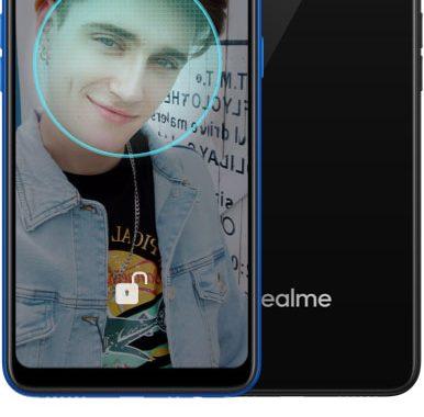 realme-c1-face-unlock