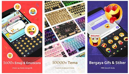 Aplikasi Keyboard Android Terbaik Go-Keyboard