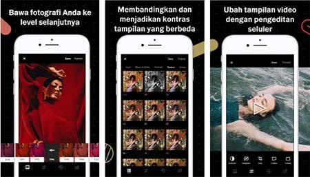 Aplikasi Kamera Android Terbaik VSCO