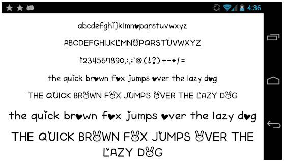 Fonts-for-FlipFont-50-Written