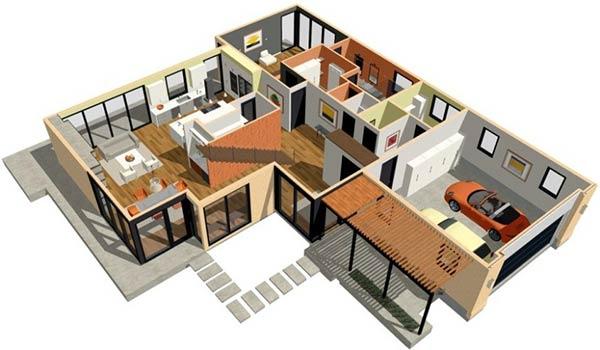 Aplikasi Desain Rumah pc ringan Home-Designer-Architectural