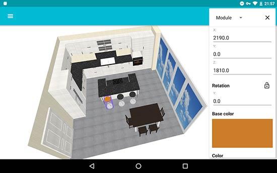 aplikasi desain rumah Kitchen-Planner-3D