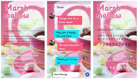 Marshmallow-Font-for-FlipFont-,-Cool-Fonts-Text