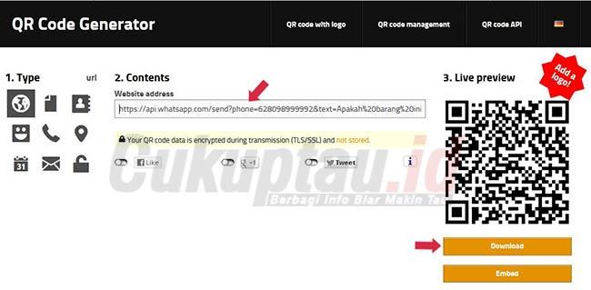 buat-QR-Code-chat-whatsapp-otomatis