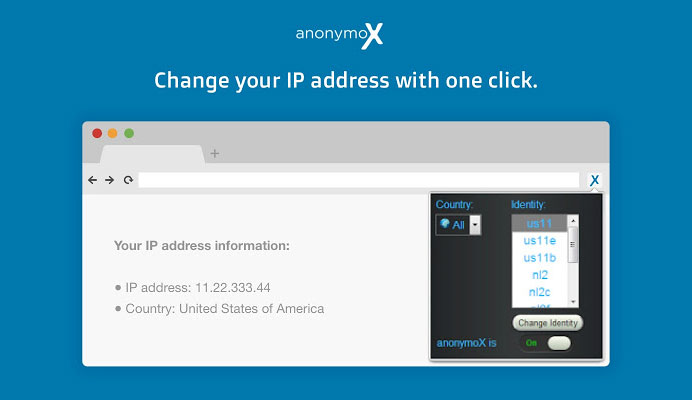 Cara Menggunakan Anonymox di Mozilla Firefox dan Chrome