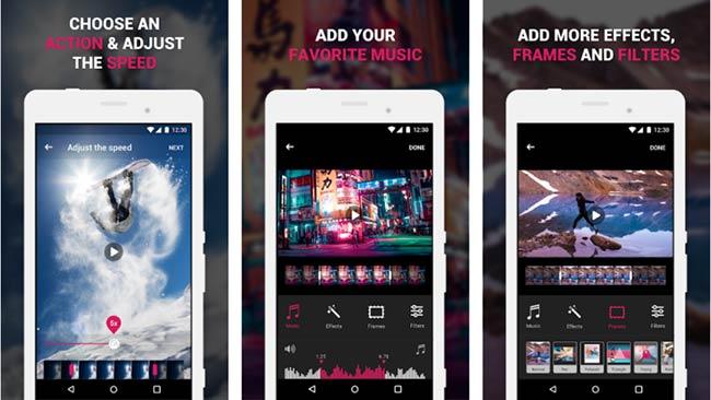 aplikasi edit video slow motion efectrum-android