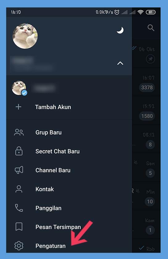 bikin id telegram