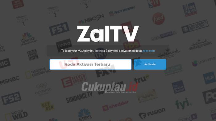 Download Kode Aktivasi ZalTV Terbaru