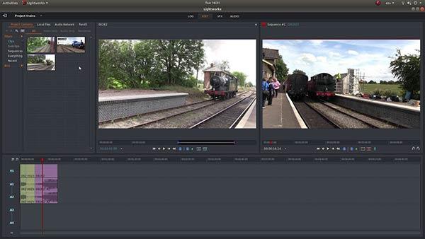 Aplikasi Edit Video PC Gratis Terbaik lightworks