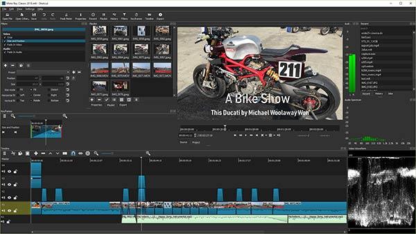 Aplikasi Edit Video PC Gratis Terbaik shotcut