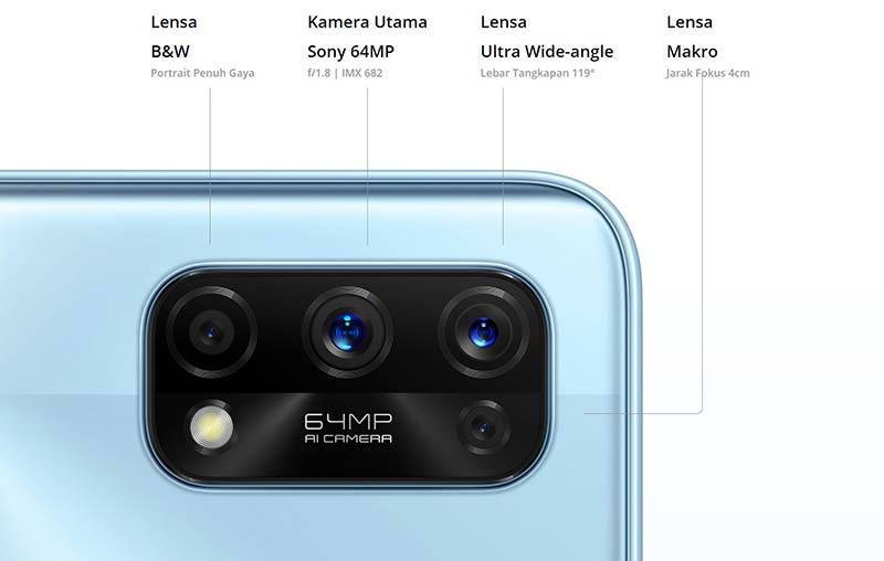 harga kelebihan realme 7 pro -kamera-sony