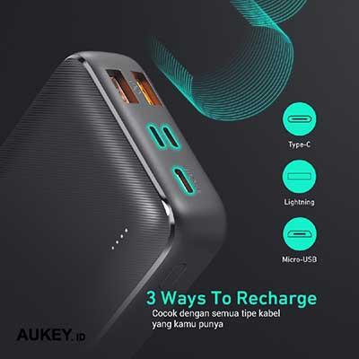 Aukey Powerbank PB-N74S Basix Plus