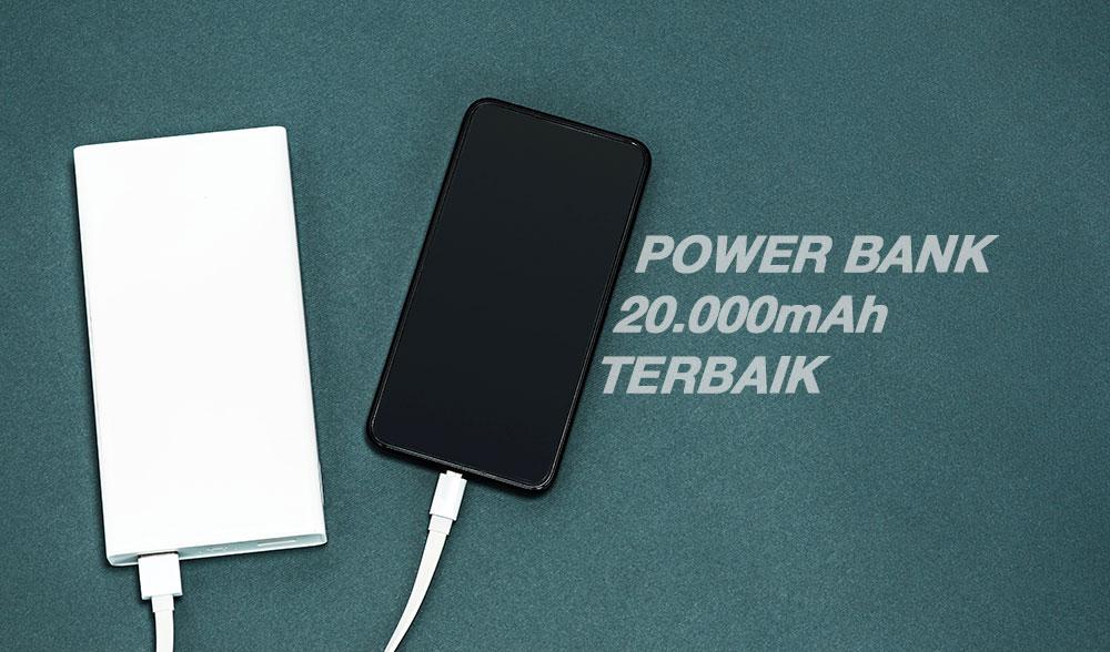 power bank 20000mAh terbaik