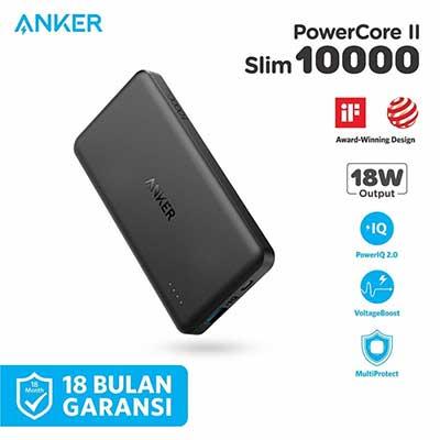 AnkerPowerCore II Slim 10000mAh