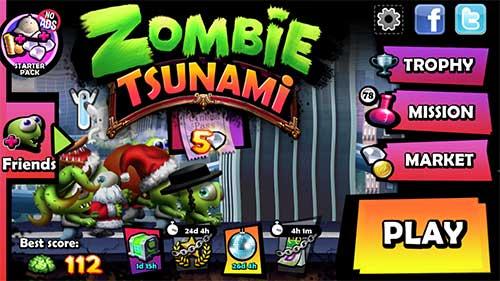 download zombie tsunami mod unlimited coin