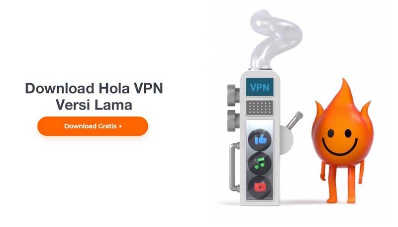 Download Hola VPN Versi Lama