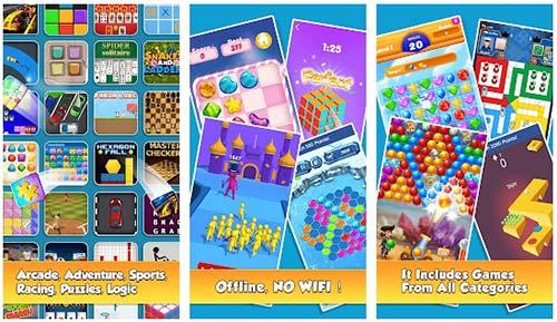 100 in apps offline games